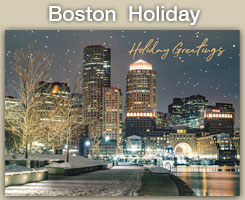 2020 Boston Holiday Cards