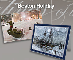 Boston Holiday Cards