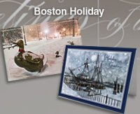 2017 Boston Holiday Cards