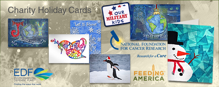 Charity Christmas and Holiday Cards