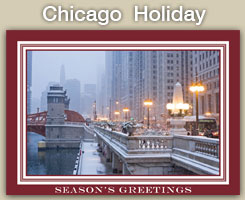 Chicago Christmas and Holiday Cards