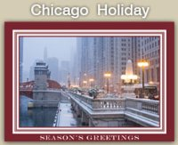 2020 Chicago Holiday Cards