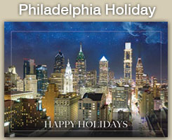 Philadelphia Christmas and Holiday Cards