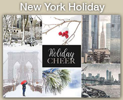 New York Christmas and Holiday Cards