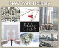 2020 New York Holiday Cards