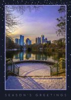 Atlanta Glow Holiday Card