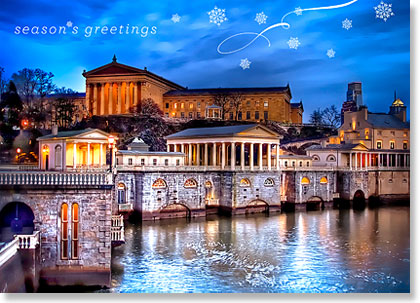 Philadelphia Art Museum Holiday Card