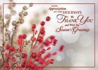 Tidings of Appreciation HolidayCard