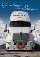 Deck the Haul! Trucking Christmas Card