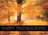 Maple Splendor Thanksgiving Card