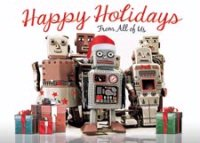 Robo Squad Holiday Card