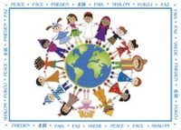 Children of the  World International Holiday Card