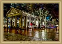 Boston Faneuil Hall Marketplace Holiday Card