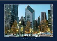 Holiday Time at Millennium Park Holiday Card