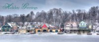 Boathouse Row Christmas Card