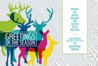 HERD OF COLOR Corporate Christmas Card