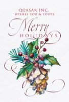 WINTERBERRY Business Christmas Card