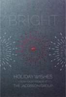 FIRECRACKER Holiday Wishes Holiday Card