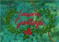 Season's Greetings charity holiday card supporitng Feeding America