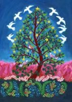Tree of Peace charity holiday card supporting National Alliance to End Homelessness