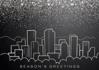 Denver Snow Holiday Card