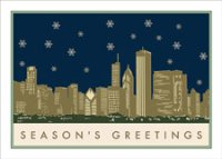 Greetings from Chicago Holiday Card