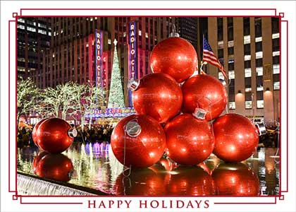 Holiday Time in New York Holiday Card