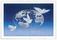Doves of Peace Inernational Holiday Card