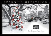 Trimming the City New York Business Christmas Card