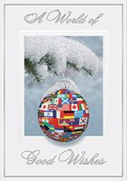 United In Joy International Ornament Holiday Card