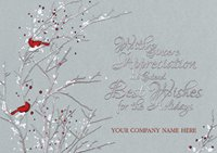 Sterling Serenity Holiday Card