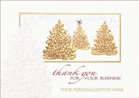 Touch of Grace Thank You  for Your Business Appreciation Holiday Card