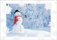 Snow Friends Christmas Card