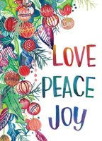 Love Peace Joy Breast Cancer Fund Charity Card
