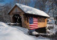 Covered Bridge Charity Holiday Card