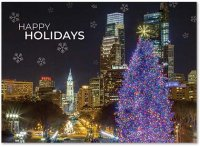 Holidays at the Museum in Philadelphia Holiday Card
