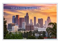Los Angeles Colors Holiday Card