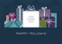 Satisfaction Guaranteed Holiday Logo Card