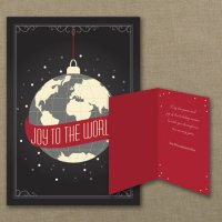 Joy to the World International Holiday Card