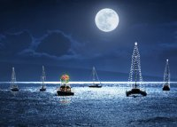 Holiday Sail Charity Holiday Card