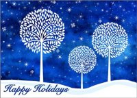 White Tree Trilogy Charity Holiday Card