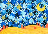 Hope in the Sky Starlight Children's Fund charity holiday card