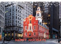 Old State House Boston Holiday Cards