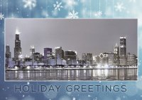 Chicago Ice Christmas Holiday Cards