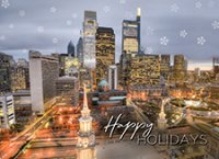 City Lights Philadelphia Holiday Cards