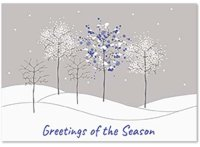 Chill Factor Holiday Greetings Card