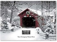 Scenic Silence Holiday Logo Card