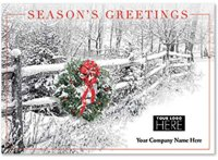 Picture Perfect Holiday Greetings Logo Card