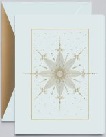 Crane SNOWFLAKE JEWEL Holiday Card