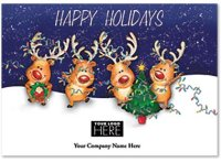 Perfect Partners Happy Holidays Logo Card